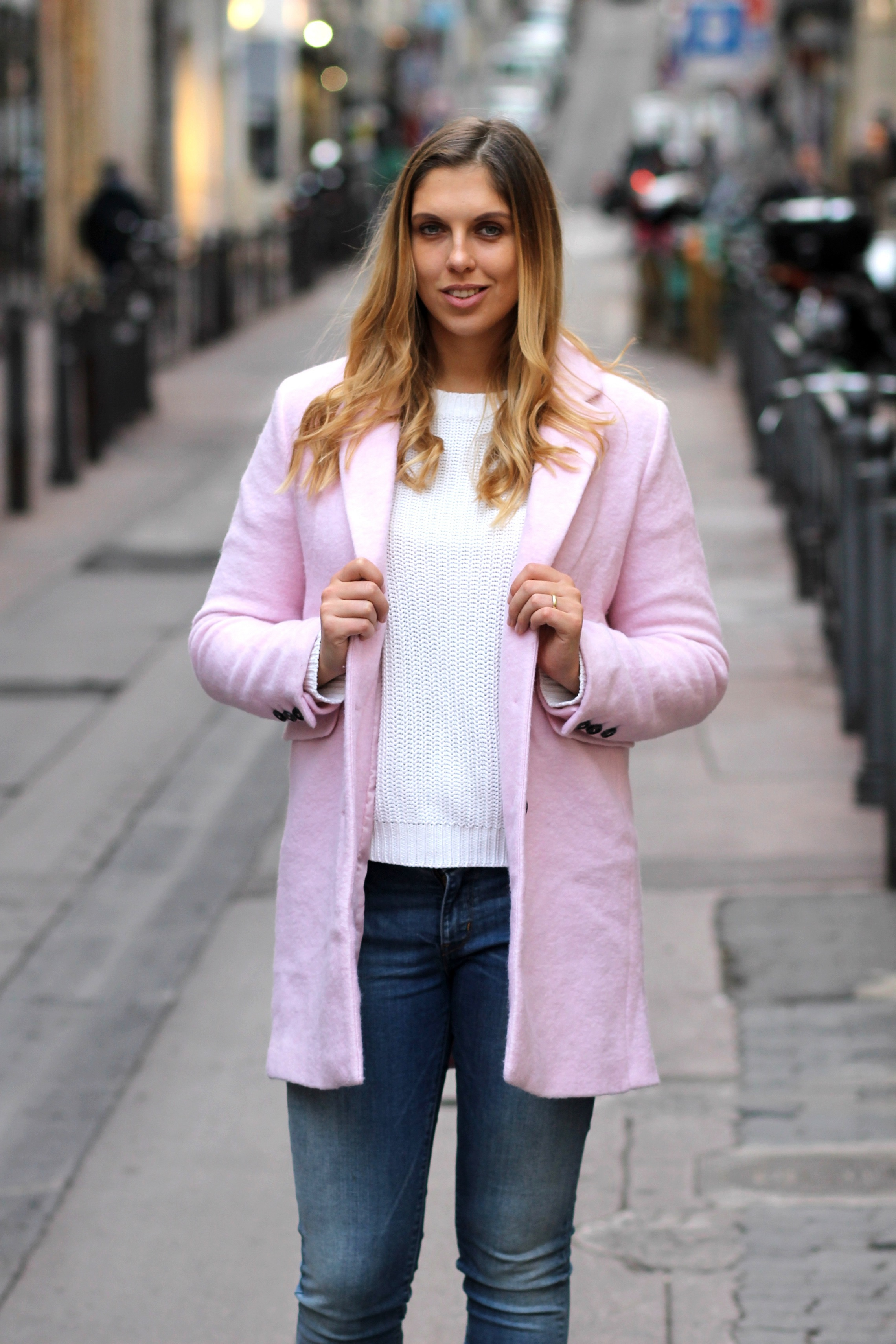 Blue Jeans Pastell coat