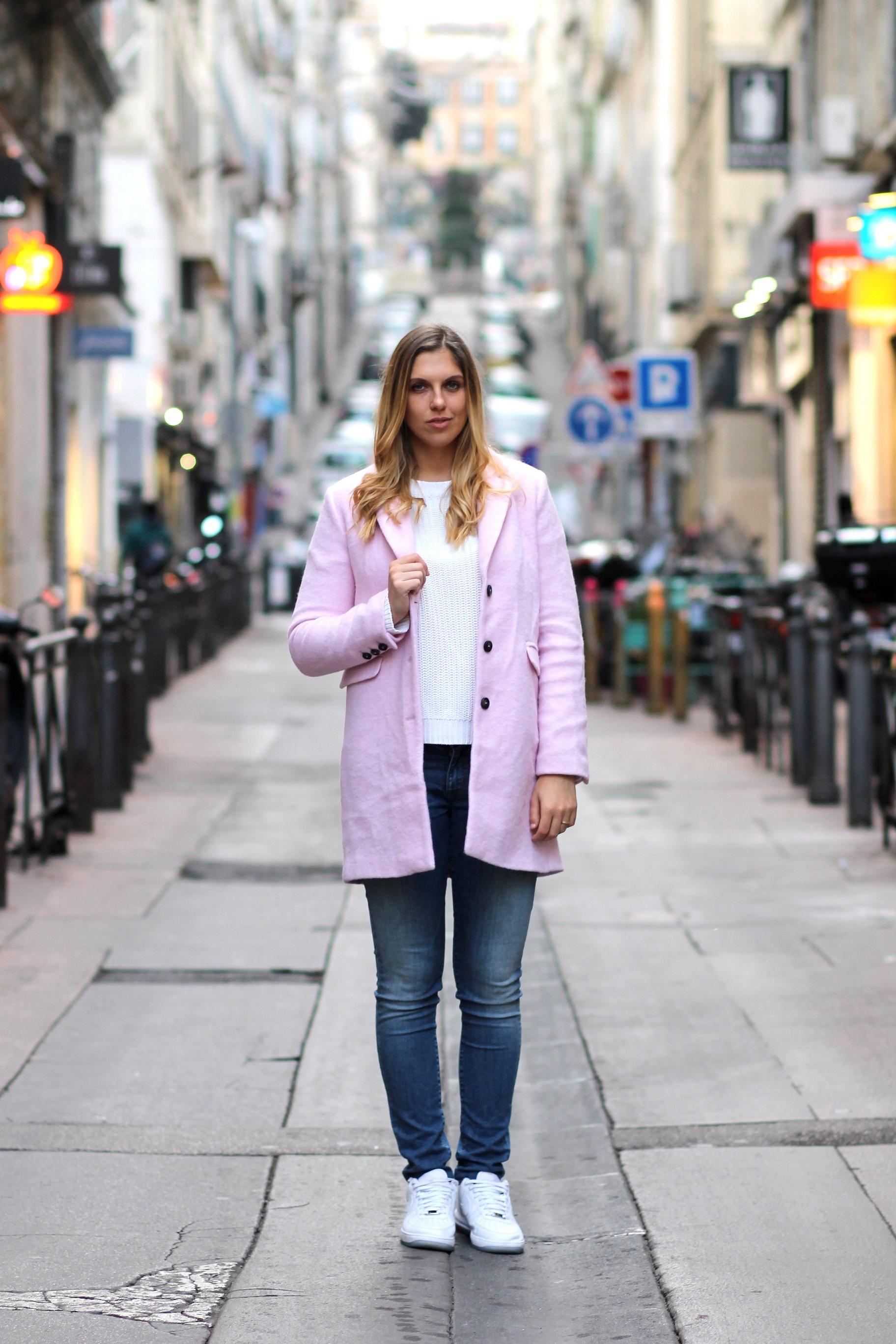 Levis Jeans Pink coat