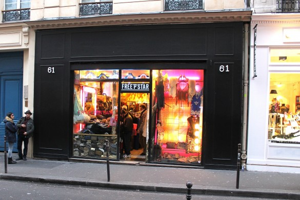 vintage boutique paris le marais