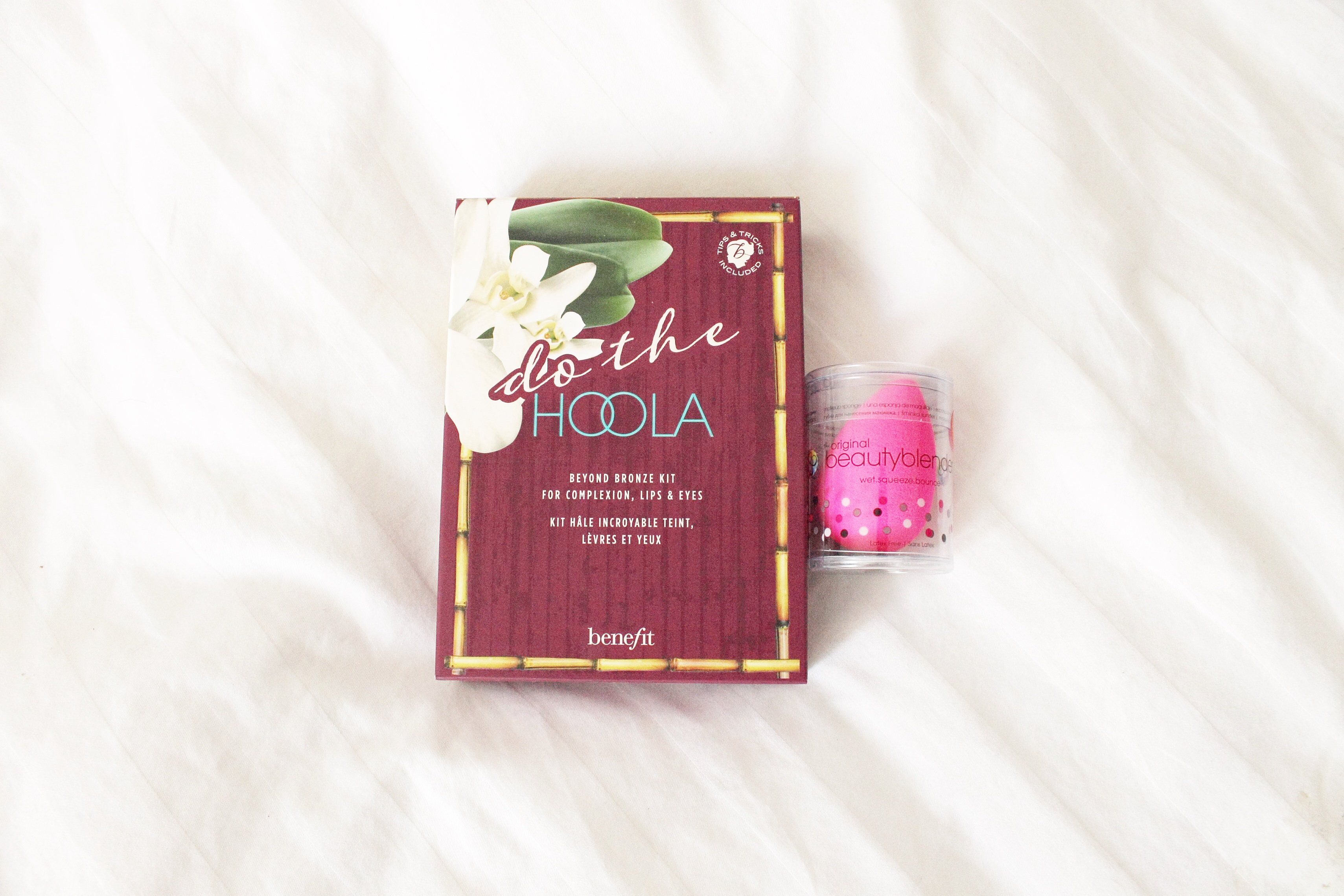 Do the hoola bronzing kit benefit cosmetics beauty blender