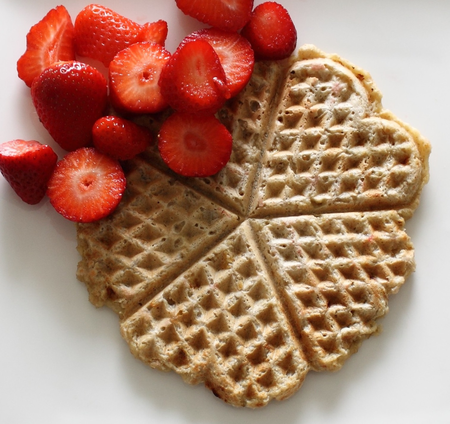 Vegan waffles recipe two ingredients banana oats