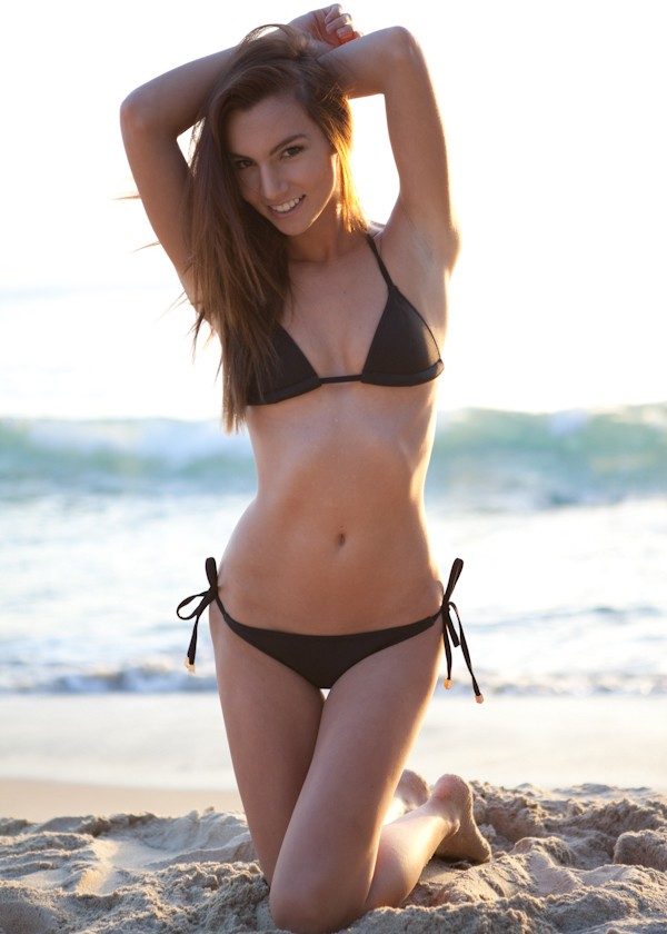 to die for swinwear black bikini scuba
