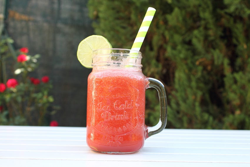 refreshing watermelon smoothie