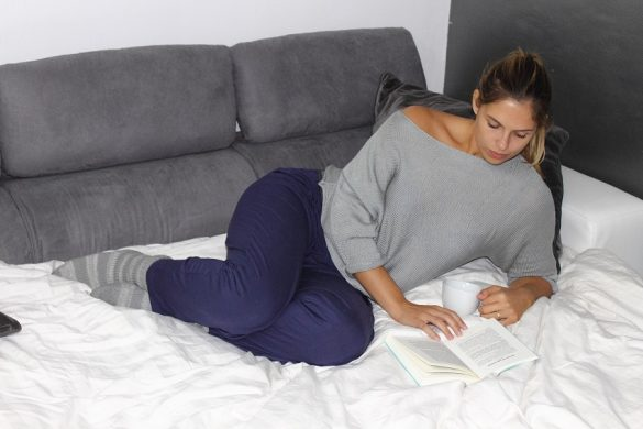 cozy mornings in bed