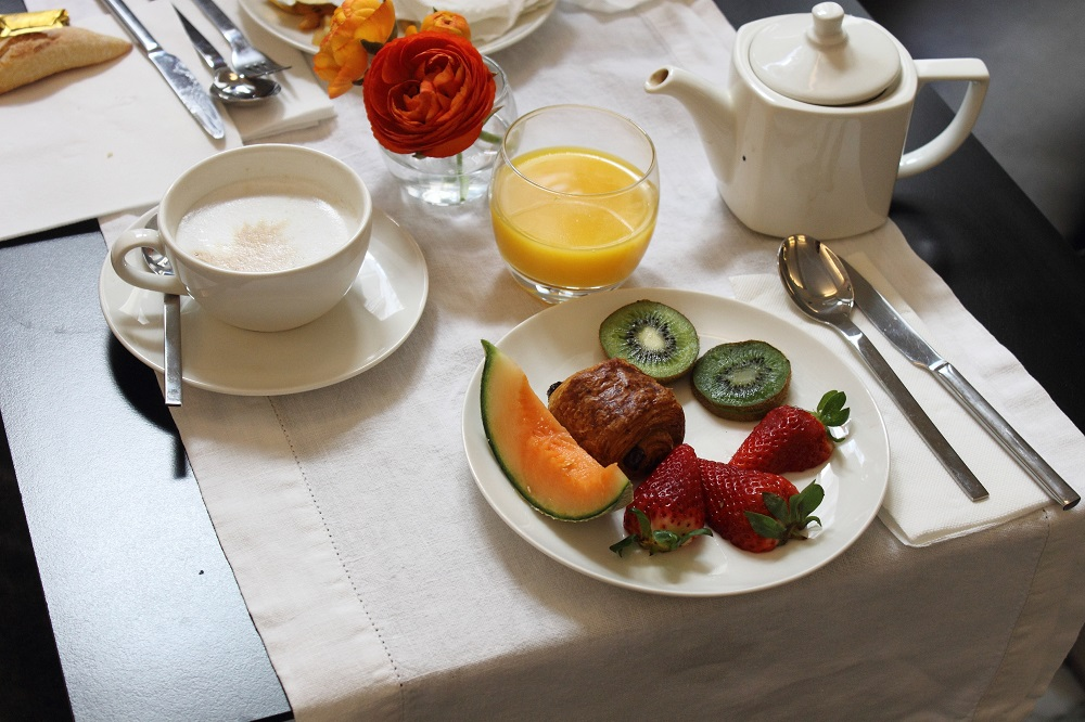 la malmaison nice breakfast