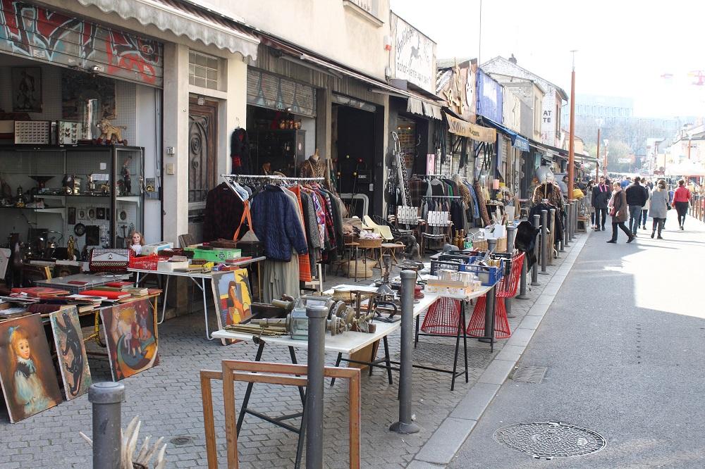 paris flea market
