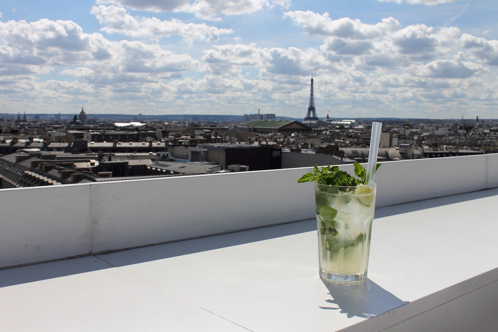 what to do in paris on sundays rooftop cocktail