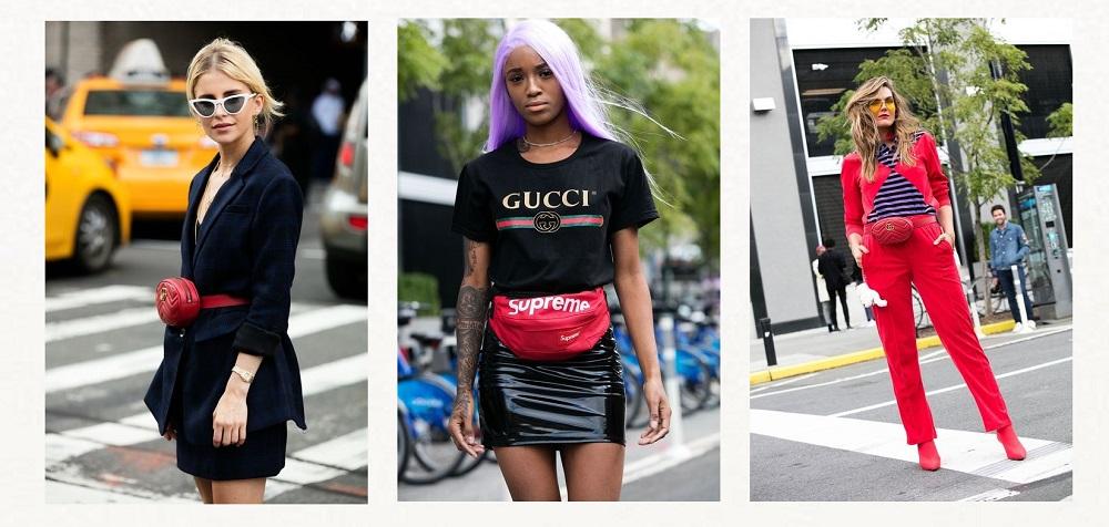 nyfw streetstyle trends belt bags