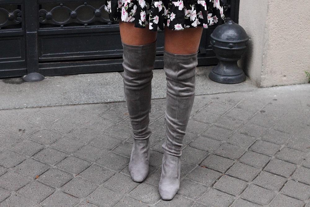 milk it dress overknee boots