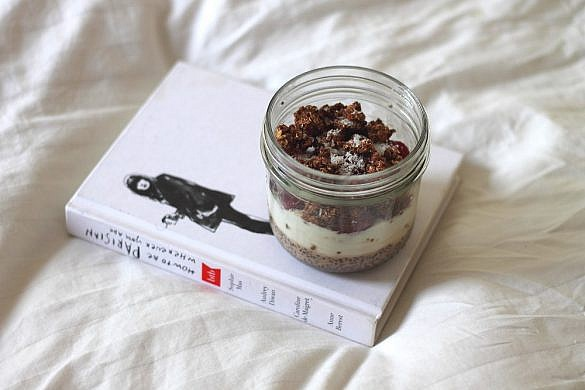 chia coconur parfait recipe
