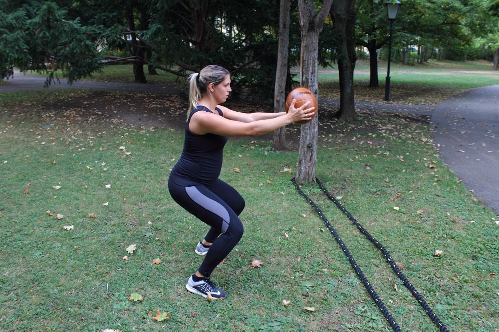 pregnancy fitness routine