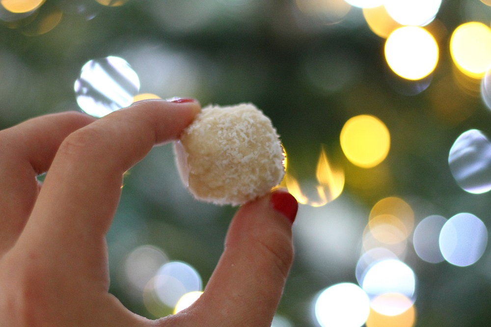 vegan raw raffaello