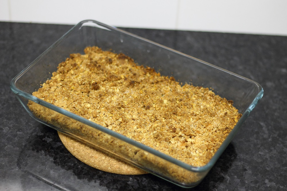 healthy apple crumble recipe