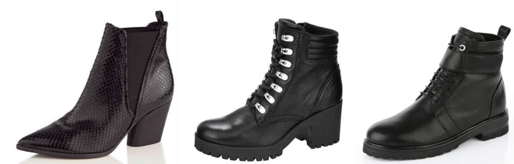 fall boot guide ankle boots black