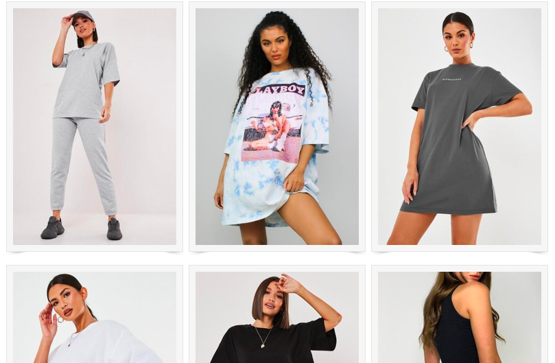 missguided selection