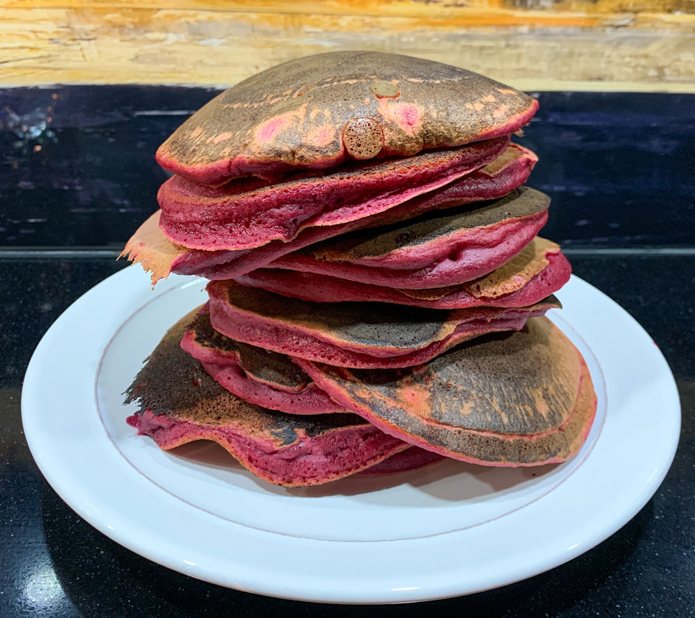 beetroot pancakes recipe